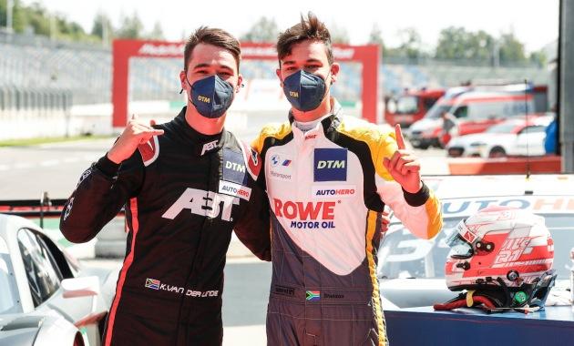 Kelvin und Sheldon van der Linde,DTM Lausitz 2021 ©Hoch Zwei