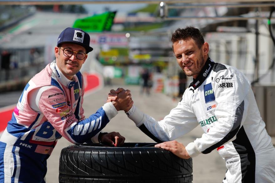Max Goetz und Marco Wittmann,DTM Spielberg ©Hoch Zwei, DTM