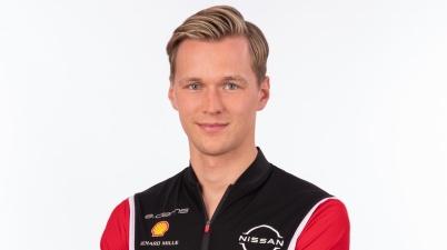 Maximilian Günther ,Nissan e.dams announces Maximilian Guenther as new Formula E driver ©Nissan