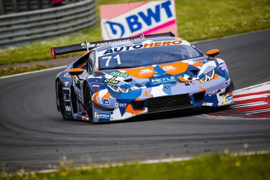 Mirko Bortolotti Lamborghini @DTM