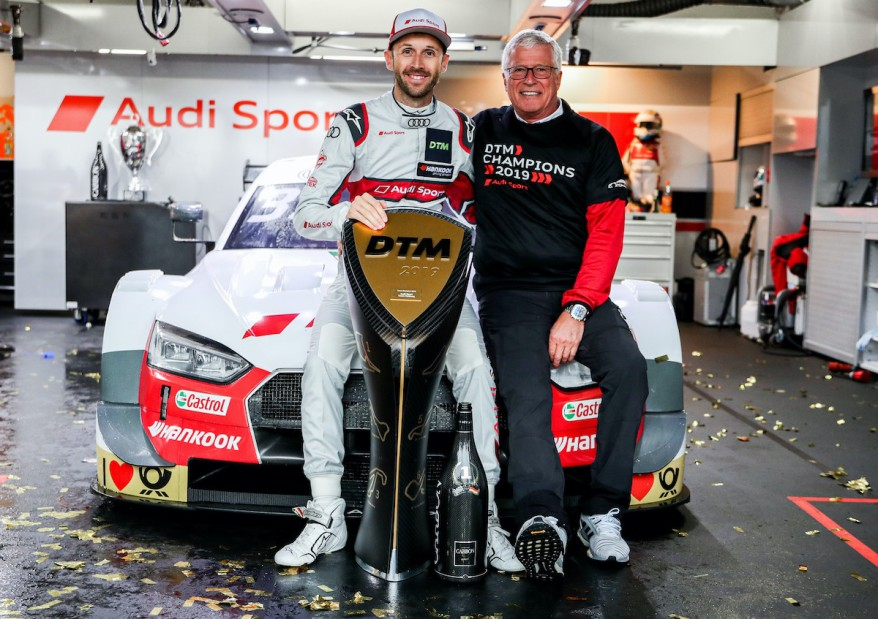 René Rast, Arno Zensen ©Audi Motorsport