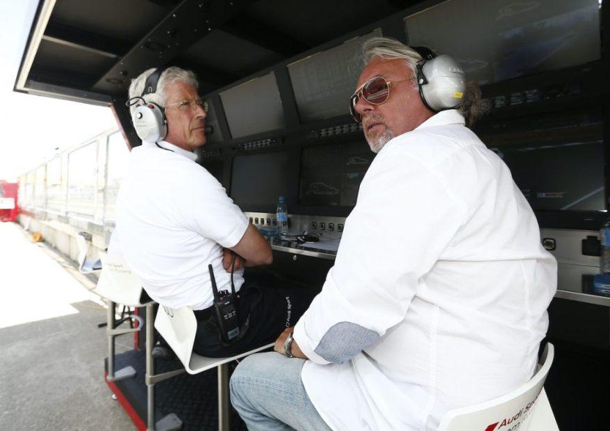 Arno Zensen, Keke Rosberg, Motorsports / DTM 7. race Nuerburgring ©Audi Motorsport